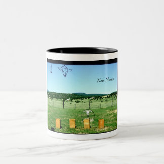 New Mexico Vistas Two-Tone Coffee Mug