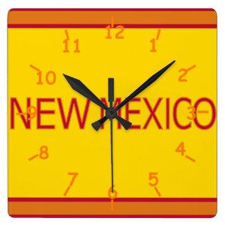 New Mexico Wall Clock