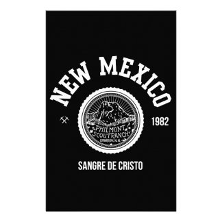 New Mexico (white ver.) Personalized Stationery