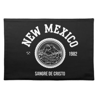 New Mexico (white ver.) Placemat