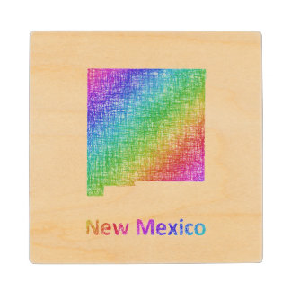 New Mexico Wood Coaster