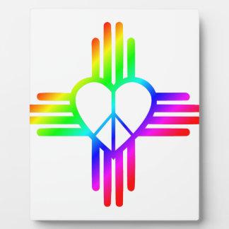 New Mexico Zia Love Plaque