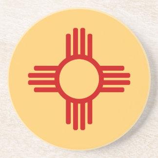 New Mexico Zia Sandstone Coaster