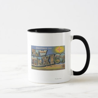 New MexicoLarge Letter ScenesNew Mexico Mug