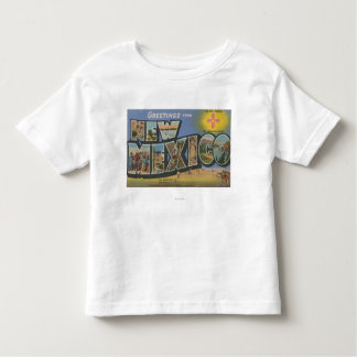 New MexicoLarge Letter ScenesNew Mexico Toddler T-Shirt