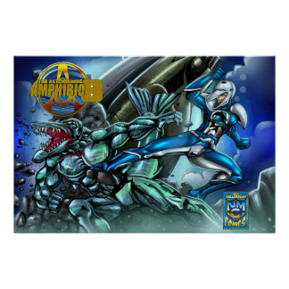 New Millennium Comics Poster