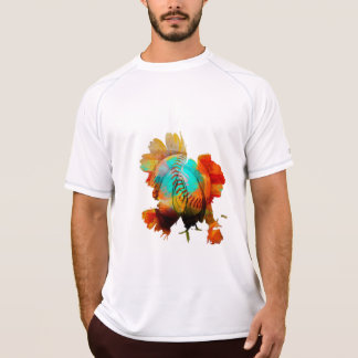 New Mixed Art - Advanced Spherical Flowers! T-Shirt