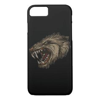 New Modern Wolf Animal Grey & Black Wild Creature iPhone 7 Case