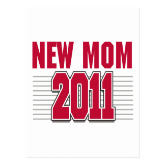 New Mom 2011 Postcard