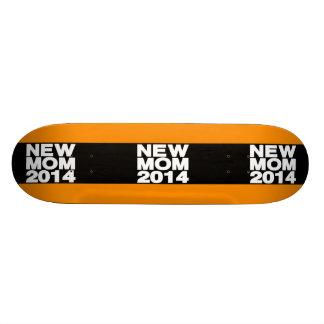 New Mom 2014 Lg Orange Skateboard Decks