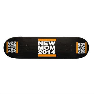 New Mom 2014 Orange Skate Board