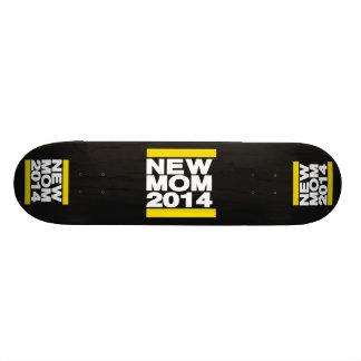 New Mom 2014 Yellow Custom Skateboard