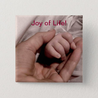 New Mom and Baby - Joy of Life 15 Cm Square Badge