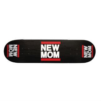 New Mom Red Custom Skateboard