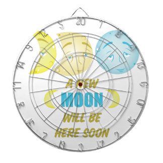 New Moon Dartboard
