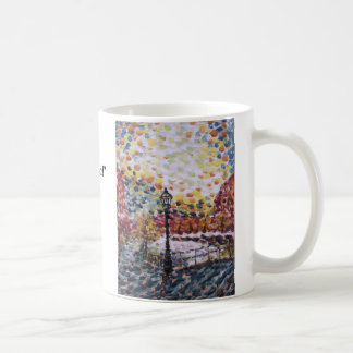 """New Morning on a Dutch Canal""Oil ... - Customized Coffee Mug"