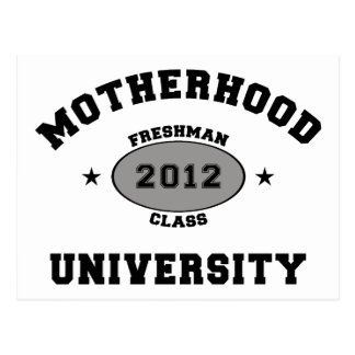 New Mother 2012 T-Shirt Gifts Postcard