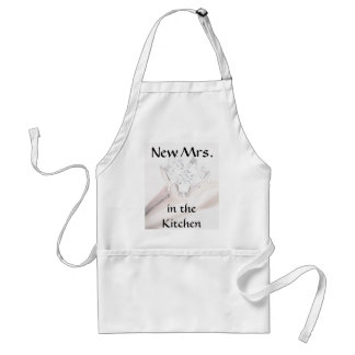 New Mrs. in the Kitchen Apron