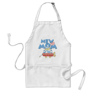 New Mum It's a Boy Tshirts and Gifts Standard Apron