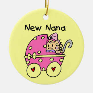 New Nana Baby in Carriage Gifts Ornament