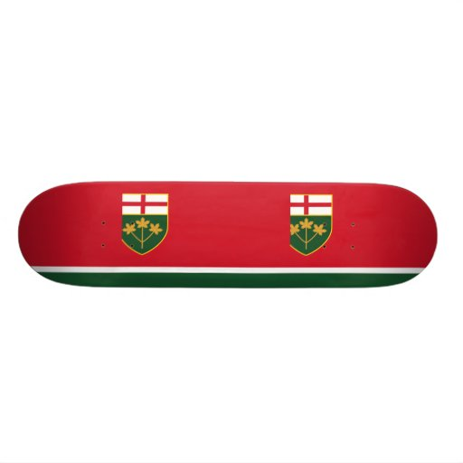 New-Ontario Proposal flag Skate Deck