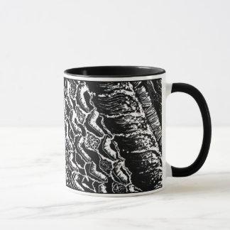 """NEW!  """"Organ of Corti"""" Block Print Mug! Mug"""