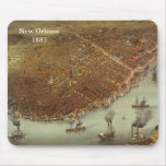 New Orleans1885 Mouse Pads