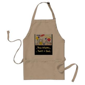 New Orleans apron
