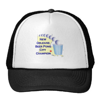 New Orleans Beer Pong Champion Trucker Hat