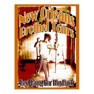 New Orleans Brothel Tours Postcard