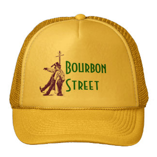New Orleans Classic Bourbon Street Drunk Style Hat