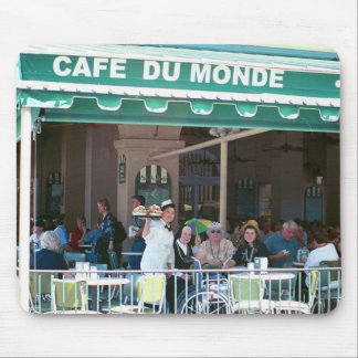 New Orleans Coffee and Beignets Mouse Pad