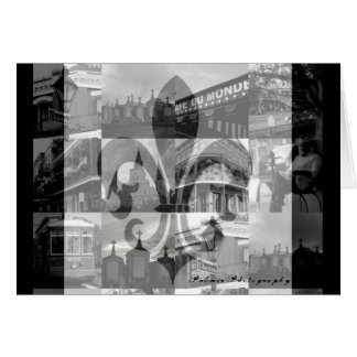 New Orleans Collage [Greeting Card] Card