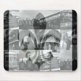 New Orleans Collage [Mousepad] Mouse Pad