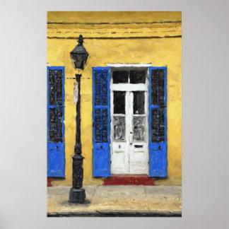 New Orleans Colors - Doors & Shutters Print