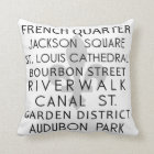 New Orleans Cushion