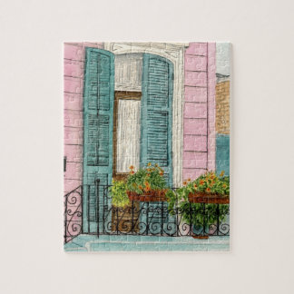 New Orleans Door Jigsaw Puzzle
