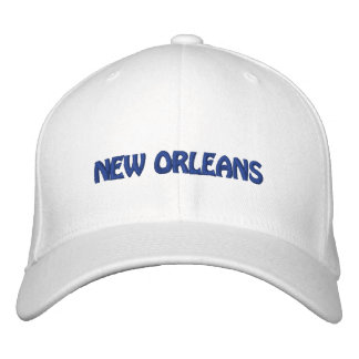 New Orleans Embroidered Hat