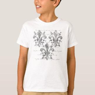 New Orleans Fleur-de-lis Kids' Light Shirt