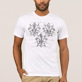 New Orleans Fleur-de-lis Men's Light Shirt