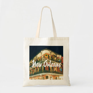 New Orleans French Quarter building photo Tote Bag