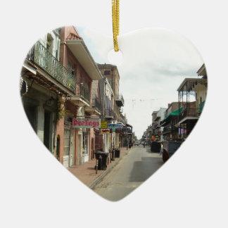 New Orleans French Quarter Ceramic Ornament