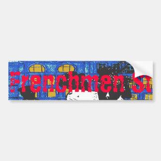 New Orleans Frenchmen St Jazz Band Bumper Sticker