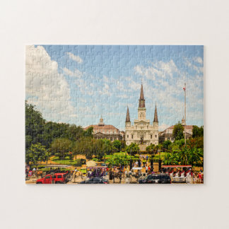 New Orleans Jackson Square. Jigsaw Puzzle