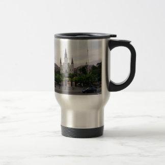 New Orleans Jackson Square Travel Mug