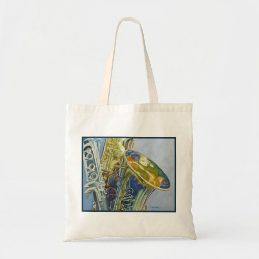 New Orleans Jazz Canvas Bags