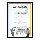 New Orleans Jazz Mardi Gras Card