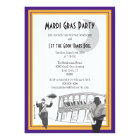 New Orleans Jazz Mardi Gras (purple) Card