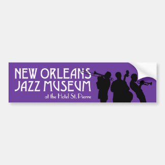 New Orleans Jazz Museum bumper sticker