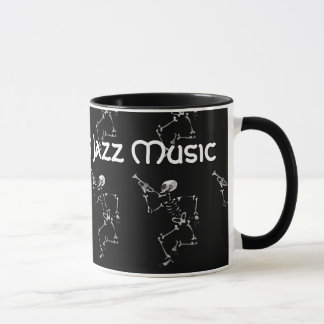 New Orleans Jazz Music 2017 Skeleton Mug